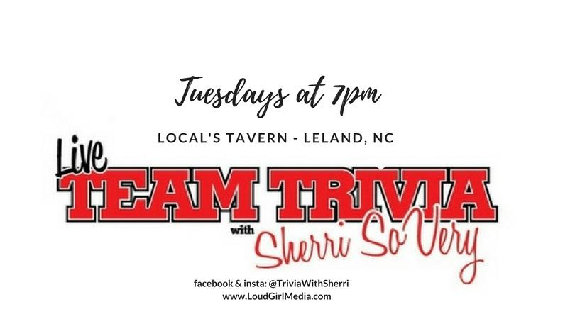 Trivia at Locals Tavern event FB