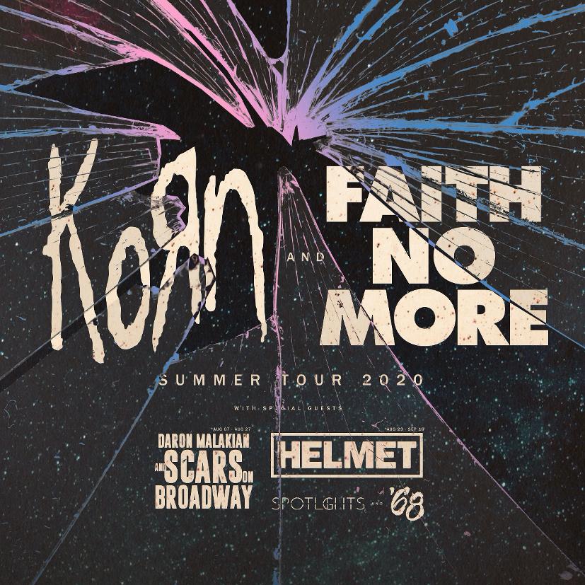 Korn and Faith Mo More tour